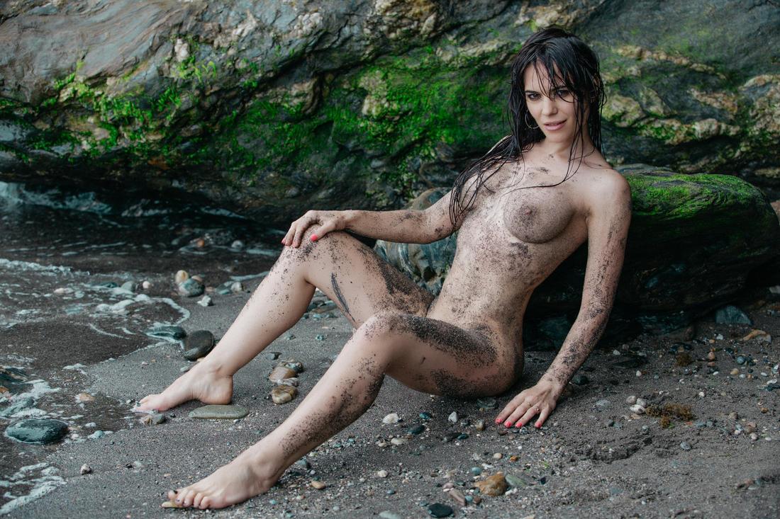Fotografía erótica en la playa de Málaga